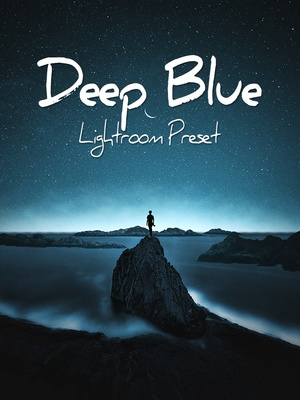 Deep Blue Lightroom Preset - @ruusstty