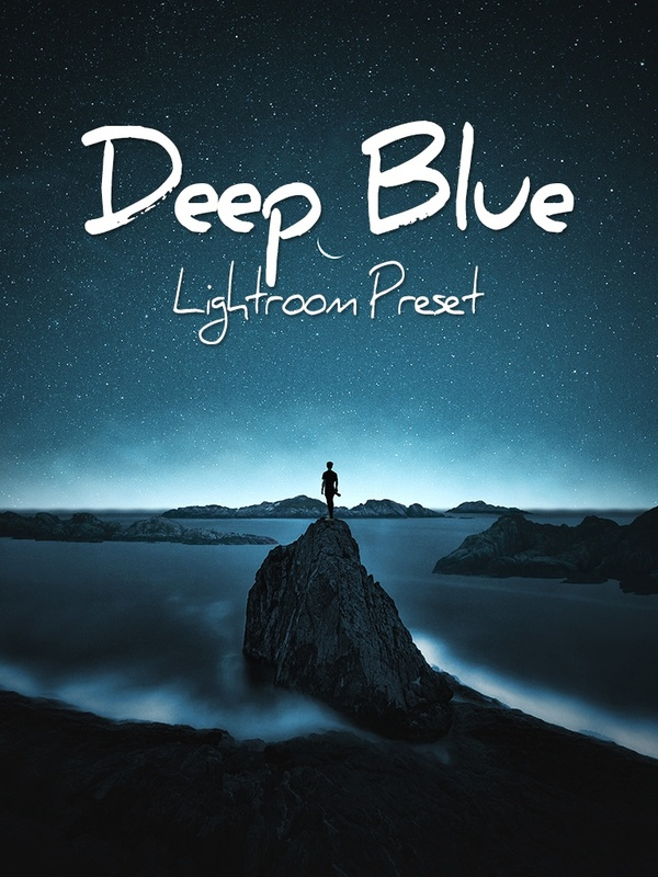 Deep Blue Lightroom Preset - @ruusstty