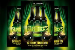 St. Patrick's Celebration 1 Flyer Template