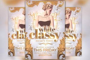Classy Party Flyer Template