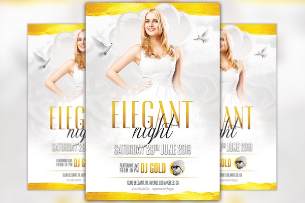 Elegant Night Flyer Template