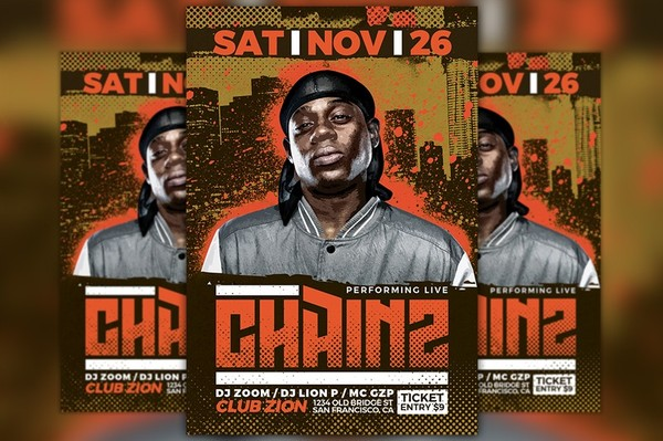 Hip Hop Event Flyer Template