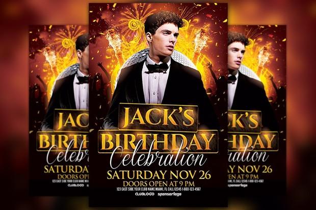 Birthday Celebration Flyer Template Awesomeflyer