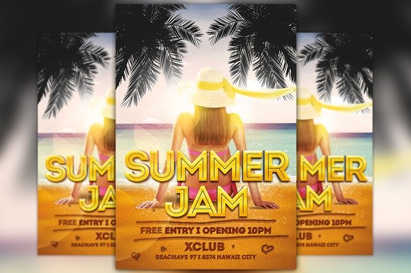Summer Jam Flyer Template