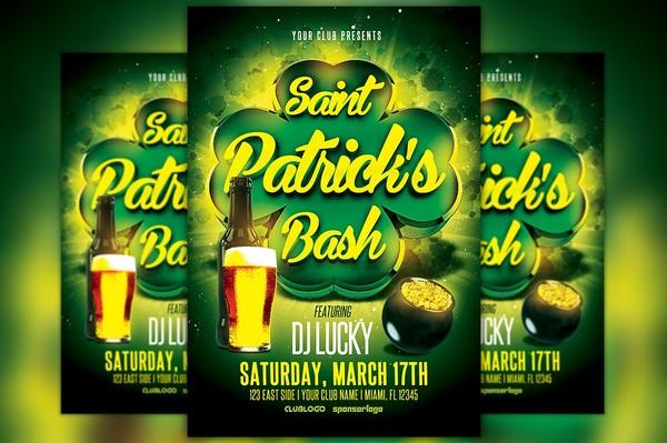 St. Patrick's Bash Flyer Template