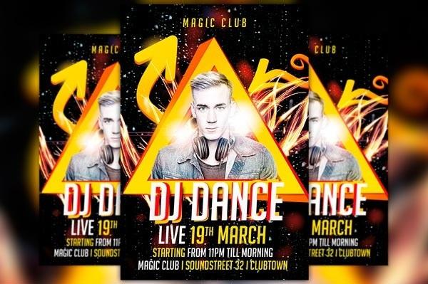 Dj Dance Flyer Template