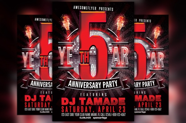 party event flyer templates