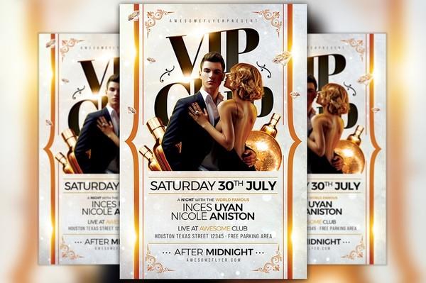VIP Club Flyer Template
