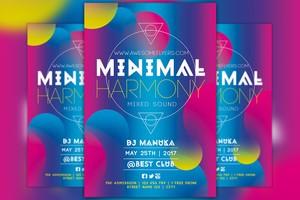 Minimal Harmony Flyer Template