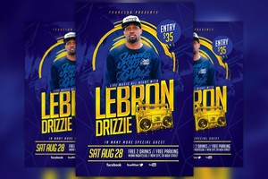 Artist Music Event Flyer Template