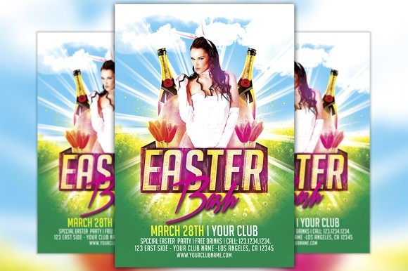 Easter Bash Flyer Template