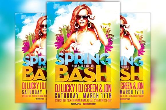 Spring Bash Flyer Template Vol.2