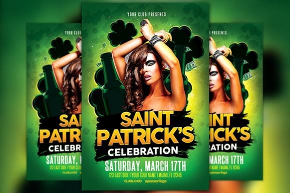 St. Patrick's Celebration 2 Flyer Template