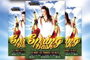 Spring Bash Flyer Template Vol.1