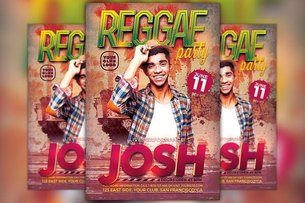 Reggae Artist Flyer Template