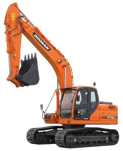 Doosan DX180LC (SN. from 5001) Crawler Excavator Workshop Service Manual