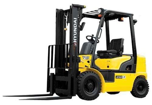 Hyundai 20D-7, 25D-7, 30D-7, 33D-7 Diesel Forklift Truck Workshop Service Manual