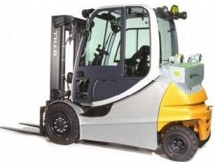Still RX60-40, RX60-45,RX60-50 Electric Forklift Truck Ser.6327-6330,6367,6368,6369 Operating Manual