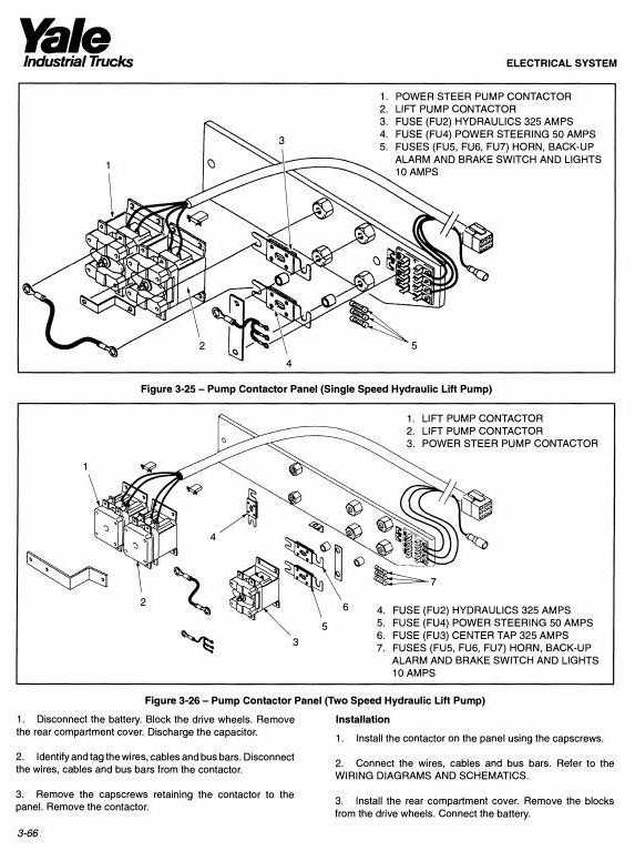 Yale Back Up Wiring Schematic