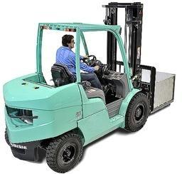 Mitsubishi FD40NB, FD45NB, FD50CNB, FD50NB, FD55NB Diesel Forklift Truck Workshop Service Manual