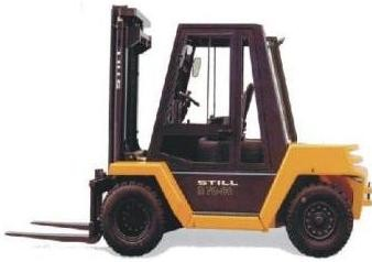 Still R70-60, R70-70, R70-80 Diesel Forklift Truck Series R7090, R7091, R7092 Spare Parts Manual