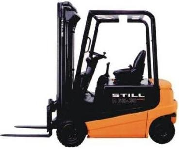 Still R60-16, R60-18, R60-20 (i) Compact Electric Forklift Truck Series R6050-R6055 Operating Manual