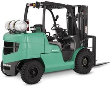 Mitsubishi FG40N, FG45N, FG50N, FG50CN, FG55N Gasoline/LPG Forklift Truck Workshop Service Manual