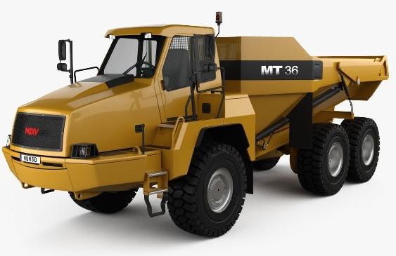 Doosan / Moxy MT36 Articulated Dump Truck Workshop Service Manual