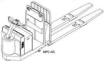 Yale MPC060AD, MPC080AD, MPC060LD, MPC080LD, MTR-700 Truck A898, A899, A817 Series Service Manual