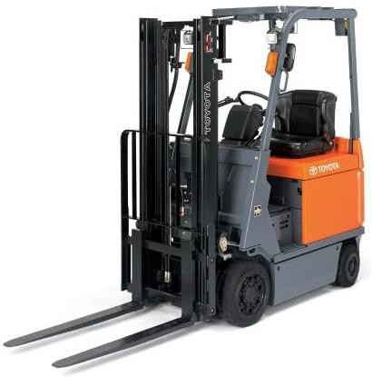 Toyota Forklift 7FBCU15,-18,-20,-25,-30,-32,-35,-45,-55, 7FBCHU25 Workshop Service Manual (CU322)