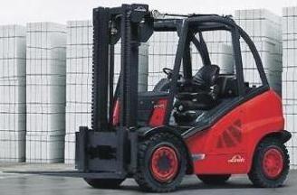 Linde H40V, H45V, H50V Mains-powered Forklift Truck 394 Series Operating Instructions (User Manual)