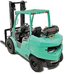 Mitsubishi FG40N, FG45N, FG50CN, FG50N, FG55N LPG Forklift Truck Operating, Maintenance Manual