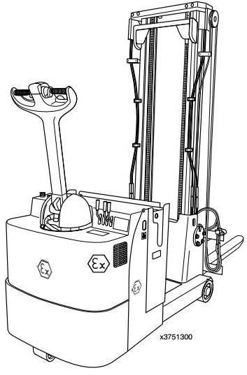 Linde L10AC, L12AC, L16AC Explosion Protected Pallet Truck 375 Series Operating & Maintenance Manual