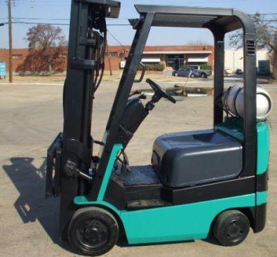 Mitsubishi FGC15K, FGC18K, FGC20K, FGC25K, FGC30K Gas/LPG Forklift Truck Workshop Service Manual
