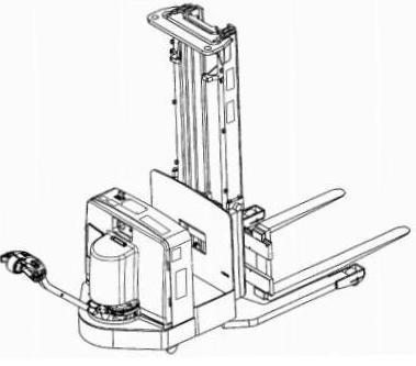 Yale MCW025/030/040-E, MRW020/030-E, MSW030/040-E Pallet Stacker C819,C820,C821 Serie Service Manual