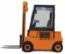Still R70-16D Diesel Forklift Truck Series R7031 Spare Parts Catalog, Manual