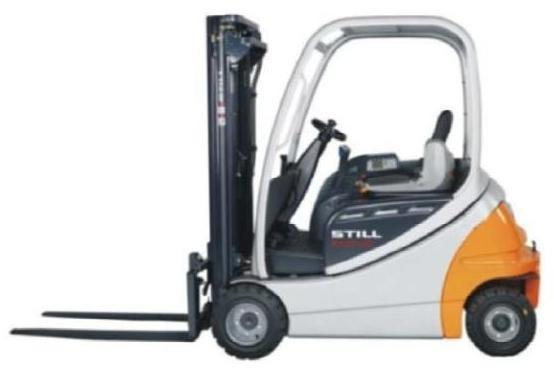 Still RX20-14, RX20-15, RX20-16, RX20-18, RX20-20 Forklift Series 6209-6217 Workshop Service Manual