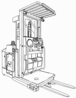 Yale OS030EB Order Selector B801 Series Workshop Service Maintenance Manual