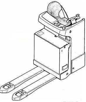 Linde T20S Pallet Truck (SN. from N01094) 144 Series Operating Instructions (User Manual)