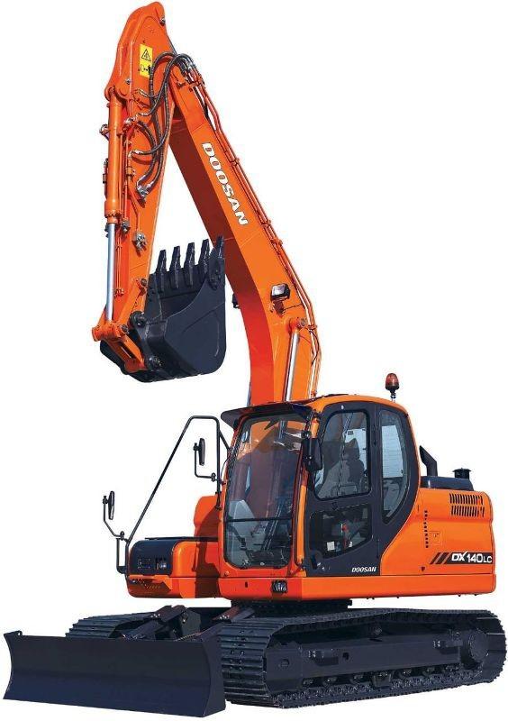 Doosan DX140LC (SN. from 5001) Crawler Excavator Workshop Service Manual