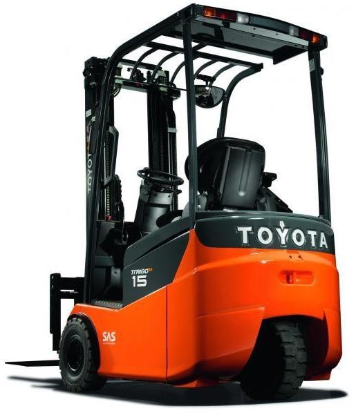 Toyota FBESF10, FBESF12, FBESF15 Electric Forklift Truck Operating and Maintenance Instructions