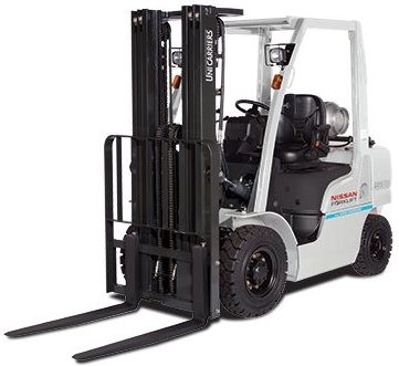 Nissan Forklift Truck 1F1,1F2 Series with K21, K25 LPG & QD32 Diesel Engines Workshop Service Manual