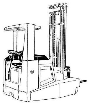 Linde R25F Electric Reach Truck 049 Series Service Training (Workshop) Manual