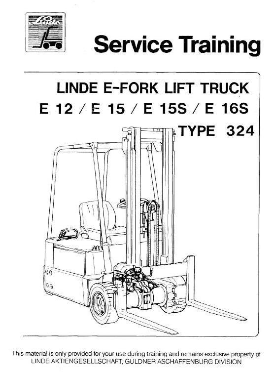 linde e10, e12, e14, e15, e16 electric forklift truck - belgreen e15 wiring diagrams 2010 toyota corolla wiring diagram pdf sellfy