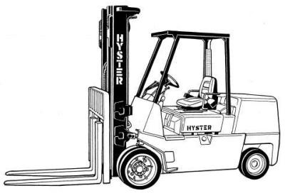 Hyster S70XL, S80XL, S100XL, S110XL, S120XL, S120XLS Forklift Truck D004 Series Spare Parts Manual