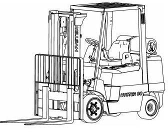 Hyster S70XM, S80XM, S100XM, S120XM(, S, SPRS) Diesel