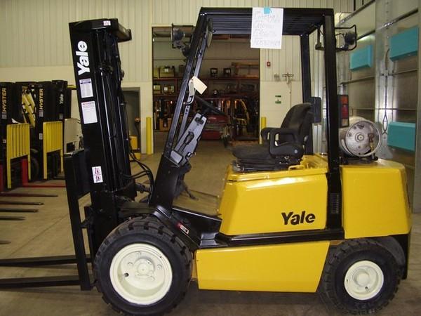 Yale GP040TG, GP050TG, GP060TG, GP065TG LPG Forkift Truck E177 Series Workshop Service Manual