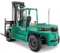 Mitsubishi FD80 (F32B-00011-09999), FD90 (F32B-50001-59999) Diesel Forklift Truck Service Manual