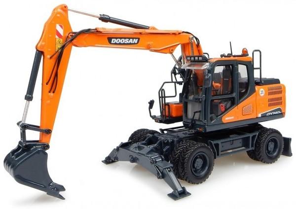 Doosan DX140W, DX160W (SN. from 5001) Wheeled Excavator Workshop Service Manual