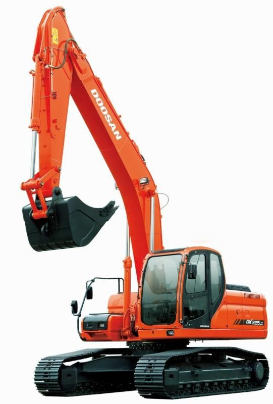 Doosan DX225NLC (SN. from 5001) Crawler Excavator Workshop Service Manual